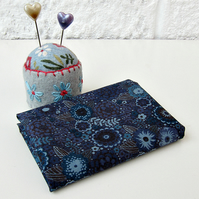 Reiko (blue and grey) - Liberty Mini Single (9x12 inches)