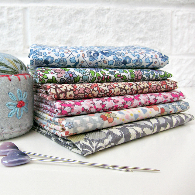 Liberty Six Pack: Beautiful Ditsies at Very Berry Fabrics