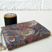 Hera (blue and brown) - Liberty Mini Single (9x12 inches)