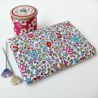 Katie and Millie  (blue, red, pink, green) - Liberty Mini Single (9x12 inches)