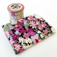 Thorpe (pink, purple) - Liberty Mini Single (9x12)
