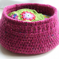 PDF Pattern: Crochet Basket