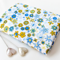 Ibstonian (blue, yellow) - Liberty Mini Single (9x12 inches)