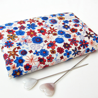 Ibstonian (blue, red) - Liberty Mini Single (9x12 inches)