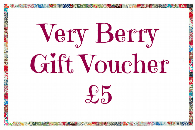 Gift Voucher (five pounds)