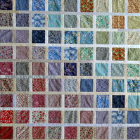 Eighty 5 inch Liberty Lawn squares