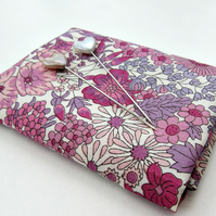 Margaret Annie (lilac, purple) Liberty Mini Single (9x12 inches)