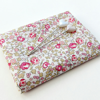 Eloise (pink, pale green) - Liberty Mini Single (9x12 inches)