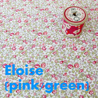 Eloise (pink, pale green) - Liberty Fat 8th (13x19 inch)