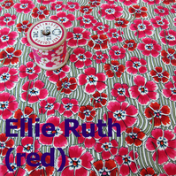 Ellie Ruth (red, green) - Liberty Fat 8th (13x19 inch)