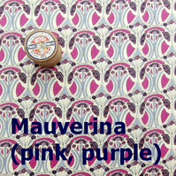 Mauverina (purple, pink) - Liberty Fat 8th (13x19 inch)