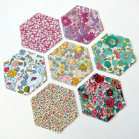 70 Liberty Tana Lawn 1.5 inch hexagons