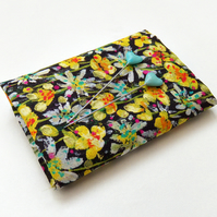 Eleonora (B) (yellow, green) - Liberty Lawn fabric (9x12 inch piece)