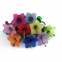 Pet Collar Charm for Cats and Dogs, Flower Charm for Collars