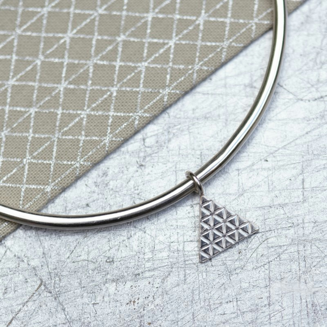 Geometric Eco Friendly Bangle