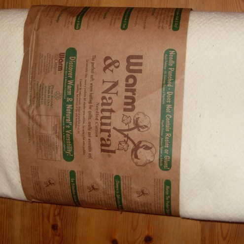 Brand new Warm & Natural cotton wadding 90 wide.
