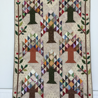 'Tree of Life' Patchwork Wallhanging or Throw