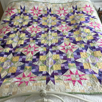 En Provence Patchwork Quilt designed by Bonnie Hunter
