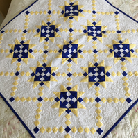 Star-Crossed Chains Patchwork Quilt designed by Englishquilter