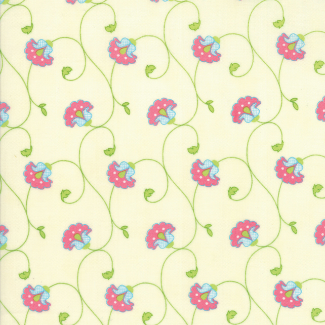 Fat Quarter 'Caravan Roundup' fabric by Mary Jane Butters for Moda