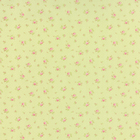 Fat Quarter 'Bespoke Blooms' pretty fabric by Brenda Riddle for Moda