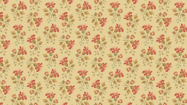 Fat Quarter Crystal Farm by Edyta Sitar for Andover Fabrics