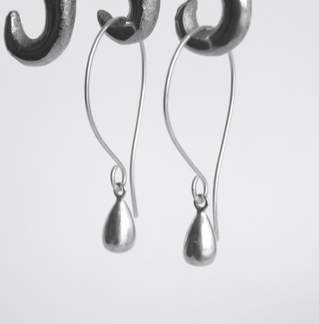 Solid Silver Earrings