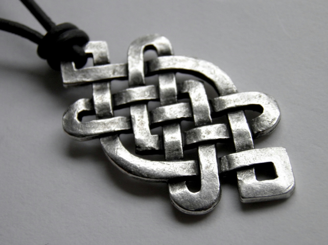 Celtic & Leather Necklace