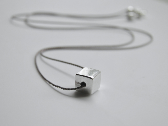 Minimalist Sterling Silver Necklace