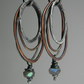 Labradorite Earrings Sterling Silver Earrings Organic