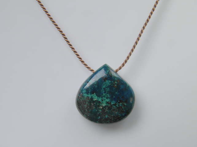 Chrysocolla Gemstone Necklace