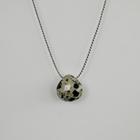 Dalmatian Jasper Gemstone Necklace