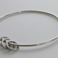 Sterling Silver Bangle Ring Design