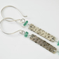 Gemstone Earrings in Sterling Silver