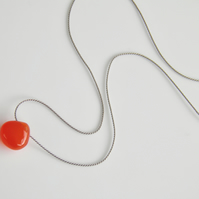 Carnelian Gemstone Necklace