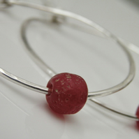 Sterling Silver Hoops Large