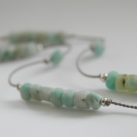 Amazonite Ankle Bracelet