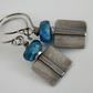 Neon Apatite Earrings Sterling Silver