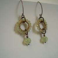 Spring Dew Earrings - reserved for Penny