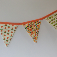 Fruity Themed Bunting
