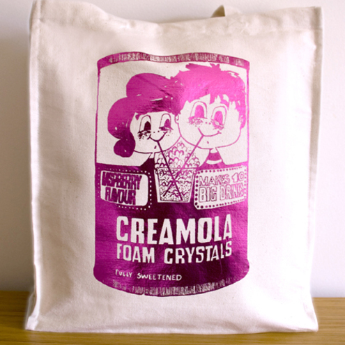 Creamola Foam Foil Bag