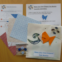 Origami Fish Mobile Kits