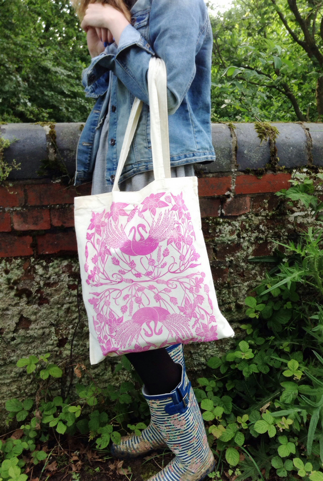 Limited Edition Hand Printed Tote