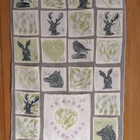 Hand Printed Advent Calendar