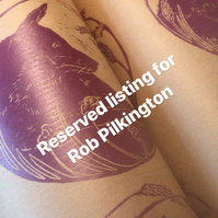 Reserved a Listing for Rob