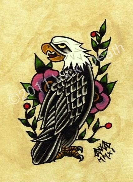 The Eagle Original Tattoo Art
