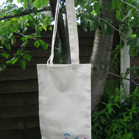 SALE   Sheffield  S11 tote bags in unbleached cotton - set of 4