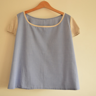 Japanese style cotton top