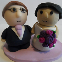 custom made wedding cake topper