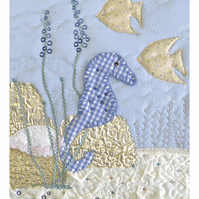 Sea horse picture - Christenings, birthday etc